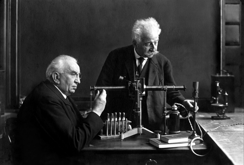 Louis and Auguste Lumière